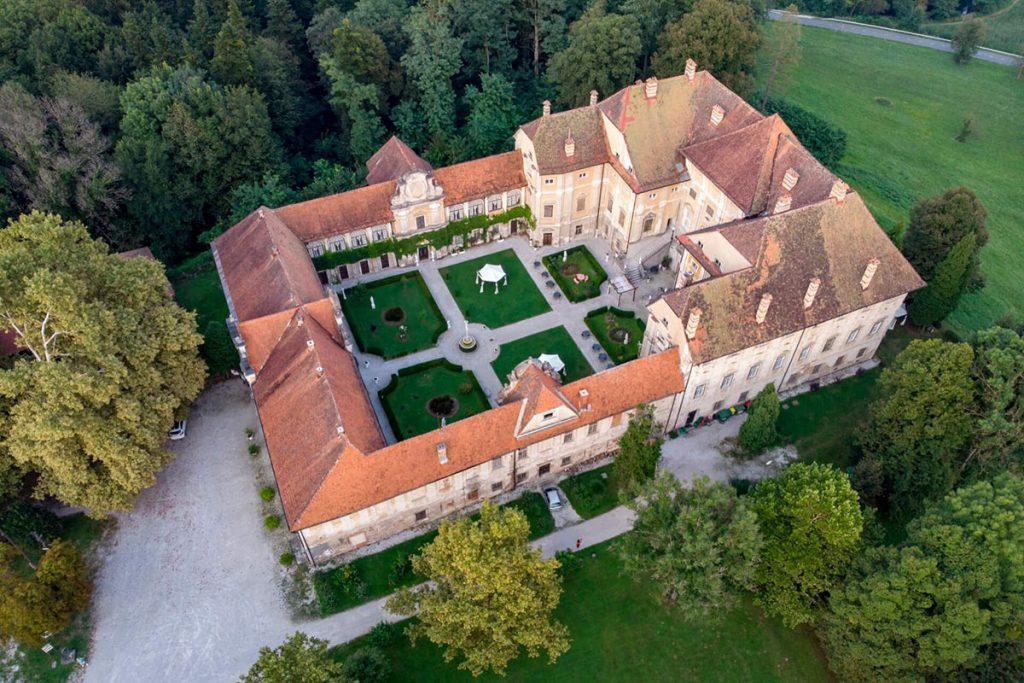 Dvorec Štatenberg v oddaji Dobro jutro na RTV SLO