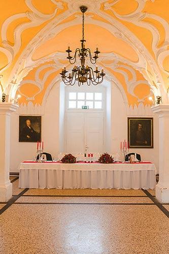 Štukature na Dvorcu Štatenberg